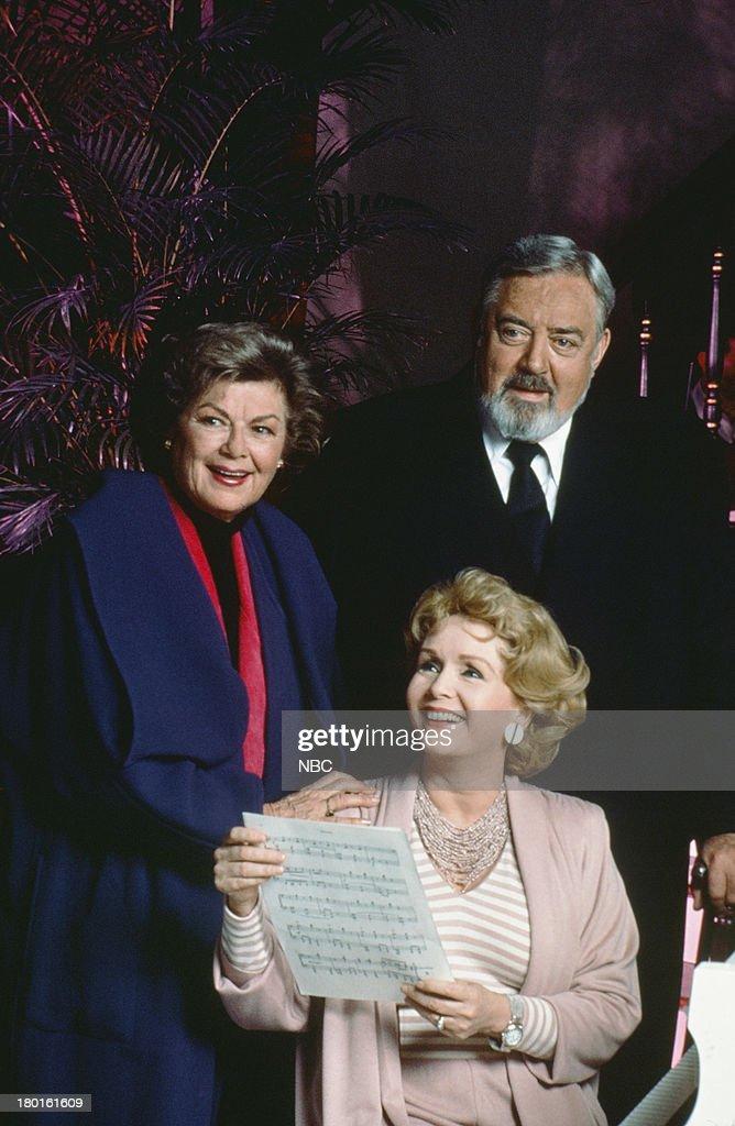 Barbara Hale as Della Street Debbie Reynolds as Amanda Cody Raymond Burr as Perry Mason