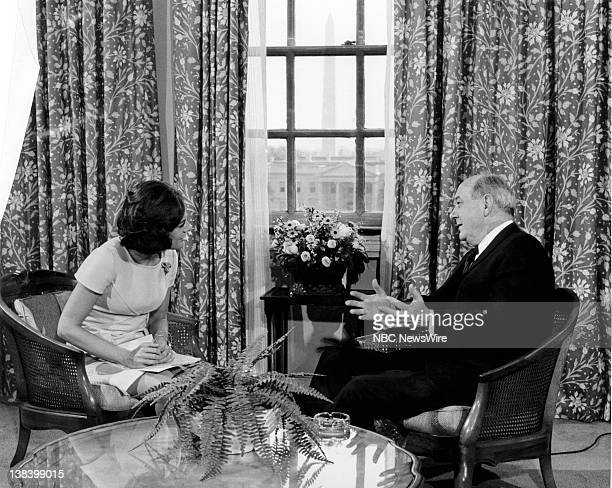 Barbara Walters interviewing Secretary of State Dean Rusk on NBC News' 'Today' in the 1970s