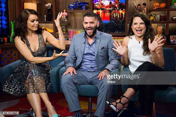 Bellamy Young Guillermo Diaz and Katie Lowes