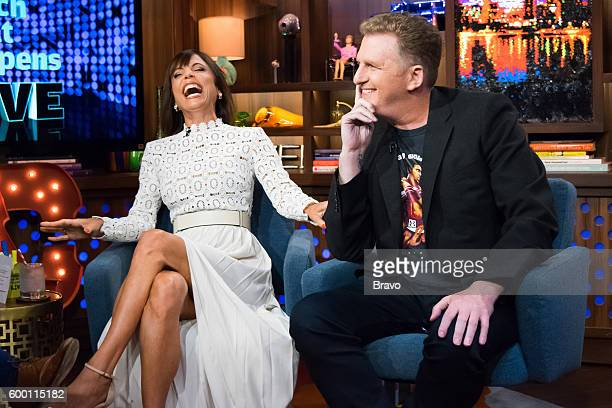 Bethenny Frankel and Michael Rapaport