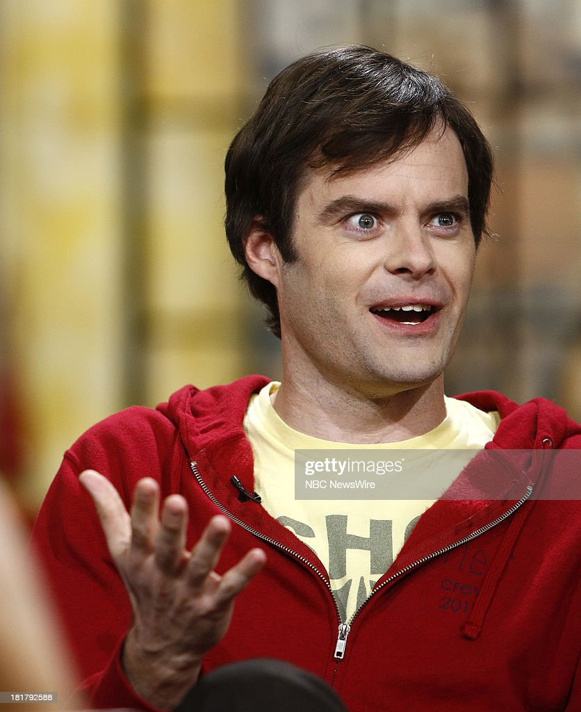 Bill Hader appears on NBC News' 'Today' show --