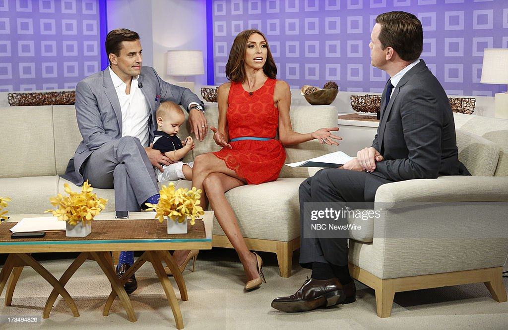 Bill Rancic, Duke Rancic, Giuliana Rancic and Willie Geist appear on NBC News' 'Today' show --