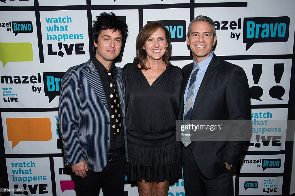 Billie Joe Armstrong, Molly Shannon and Andy Cohen --