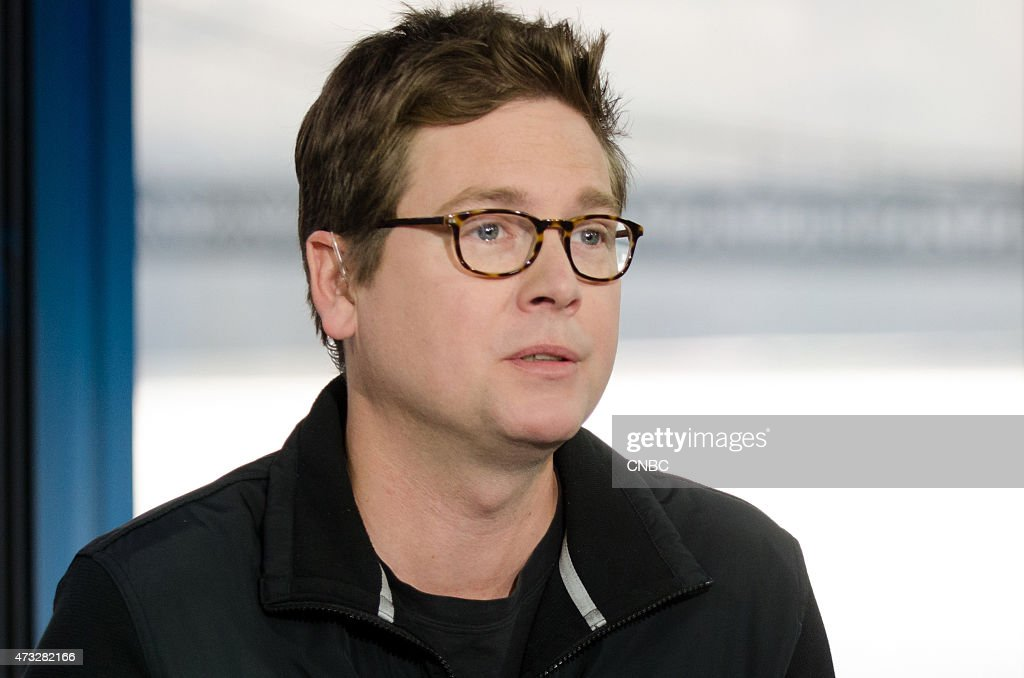 Biz Stone, co-founder of Twitter, Inc., in an interview at CNBC's San Francicso bureau, on May 13, 2015 --