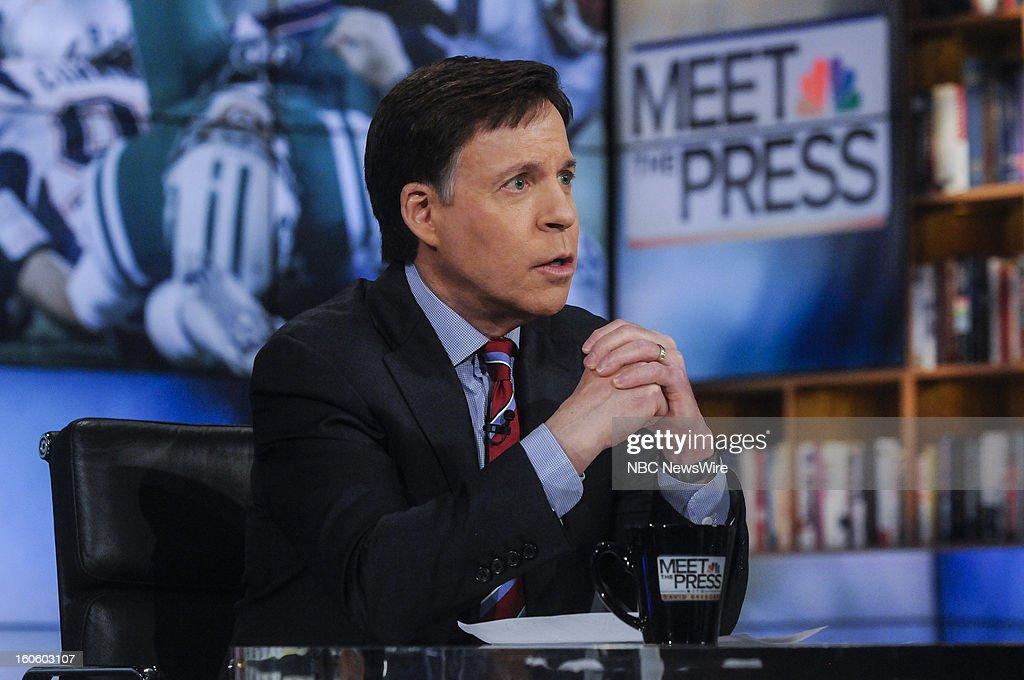 – Bob Costas, NBC Sports, appears on 'Meet the Press' in Washington D.C., Sunday, Feb. 3, 2013.
