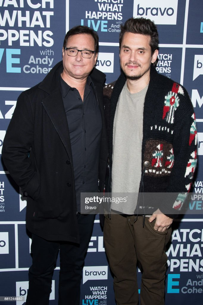 Bob Saget and John Mayer --