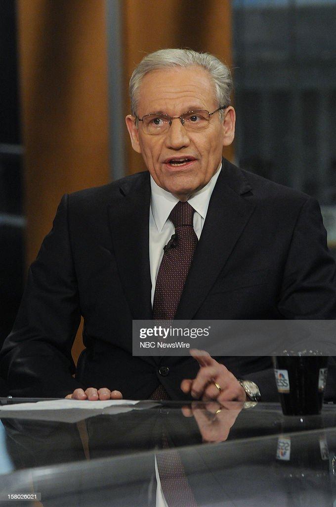 – Bob Woodward, Associate Editor, The Washington Post, appears on 'Meet the Press' in Washington D.C., Sunday, Dec. 9, 2012.