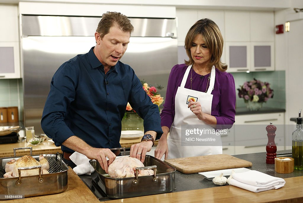 <a gi-track='captionPersonalityLinkClicked' href=/galleries/search?phrase=Bobby+Flay&family=editorial&specificpeople=220554 ng-click='$event.stopPropagation()'>Bobby Flay</a> and <a gi-track='captionPersonalityLinkClicked' href=/galleries/search?phrase=Savannah+Guthrie&family=editorial&specificpeople=653313 ng-click='$event.stopPropagation()'>Savannah Guthrie</a> appear on NBC News' 'Today' show --