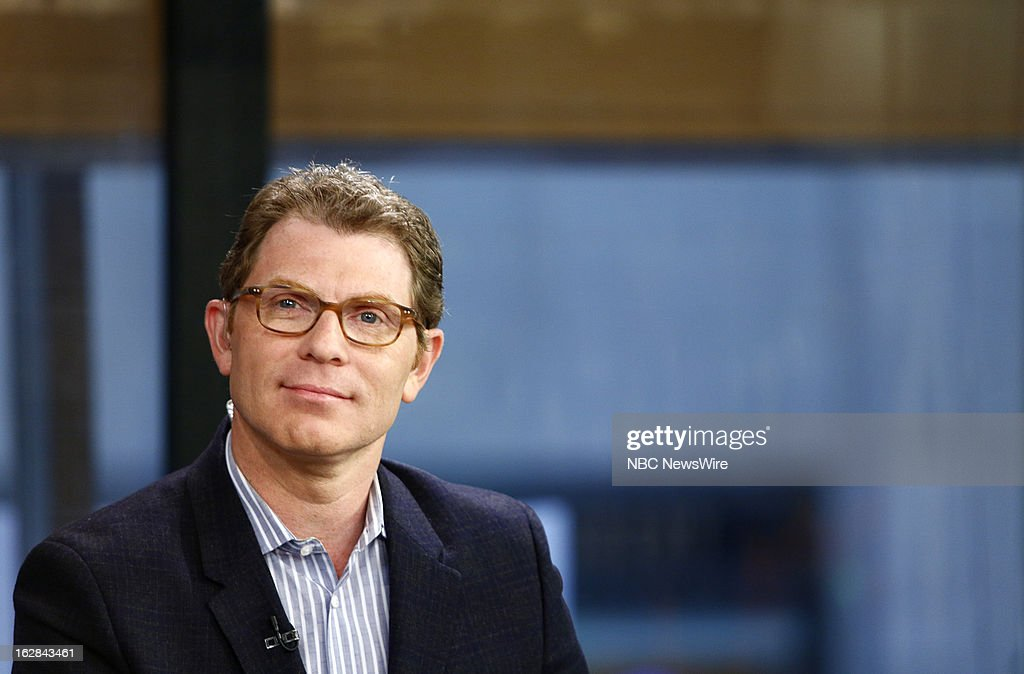 Bobby Flay appears on NBC News' 'Today' show on February 28, 2013 --