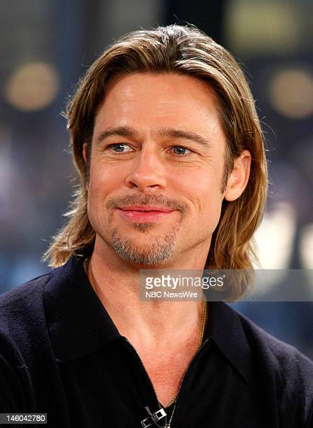 Brad Pitt appears on NBC News' 'Today' show