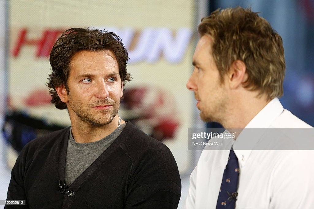 <a gi-track='captionPersonalityLinkClicked' href=/galleries/search?phrase=Bradley+Cooper&family=editorial&specificpeople=680224 ng-click='$event.stopPropagation()'>Bradley Cooper</a> and <a gi-track='captionPersonalityLinkClicked' href=/galleries/search?phrase=Dax+Shepard&family=editorial&specificpeople=810830 ng-click='$event.stopPropagation()'>Dax Shepard</a> appear on NBC News' 'Today' show --