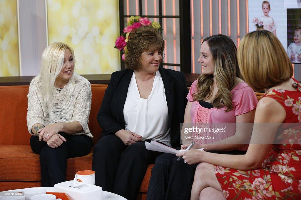 Brenda Hollis, Cathy Pochek, Katheryn Deprill, Savannah Guthrie appear on NBC News' 'Today' show --