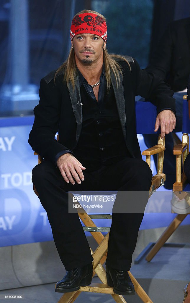 Bret Michaels appears on NBC News' 'Today' show --
