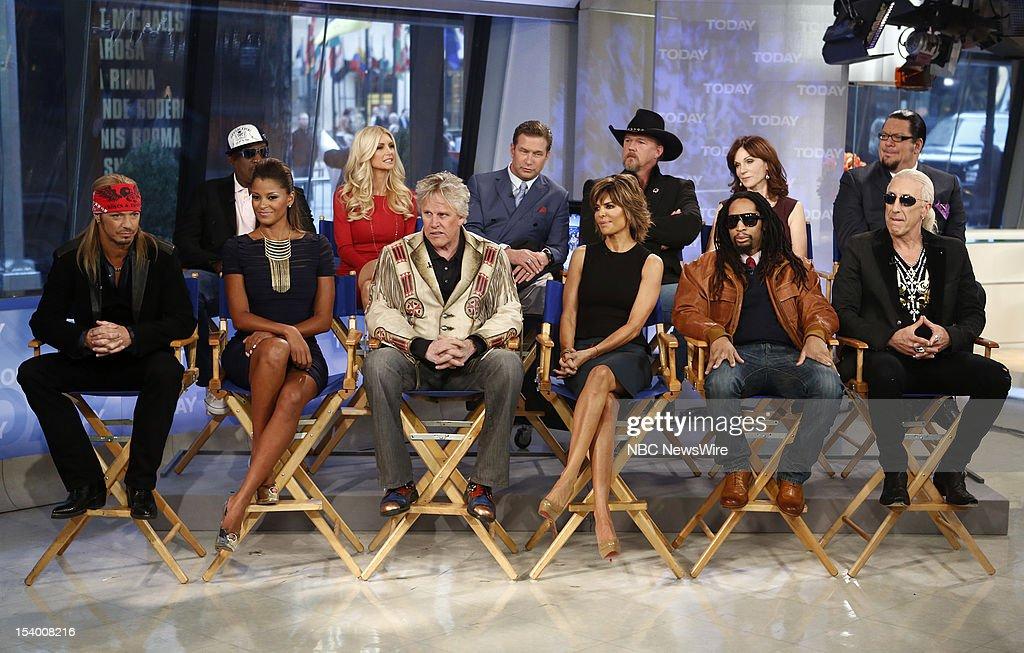 Bret Michaels, Dennis Rodman, Claudia Jordan, Brande Roderick, Gary Busey, Stephen Baldwin, Lisa Rinna, Trace Adkins, Lil Jon, Marilu Henner, Penn Jillette and Dee Snider appear on NBC News' 'Today' show --