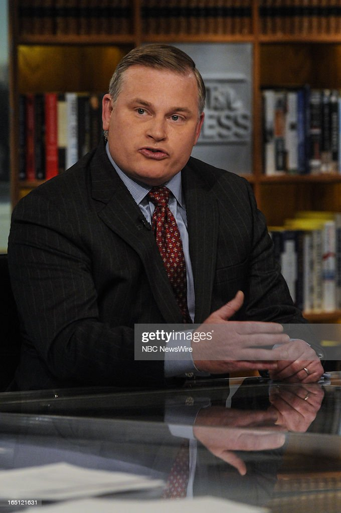 – Brian Brown, President, National Organization for Marriage, appears on 'Meet the Press' in Washington, D.C., Sunday, March 31, 2013.