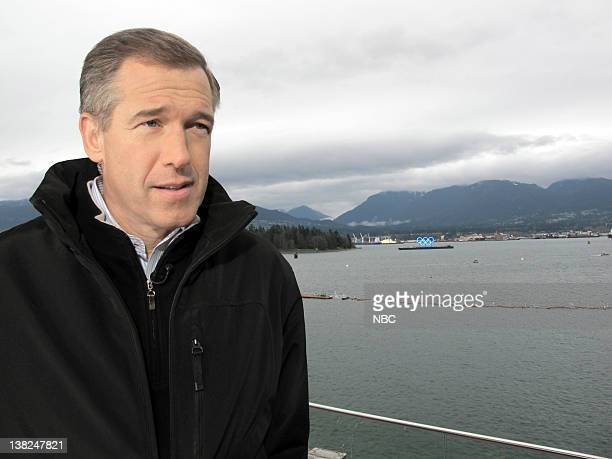 Brian Williams NBC News' Brian Williams broadcasts live from Vancouver British Columbia during the 2010 Winter Olympics