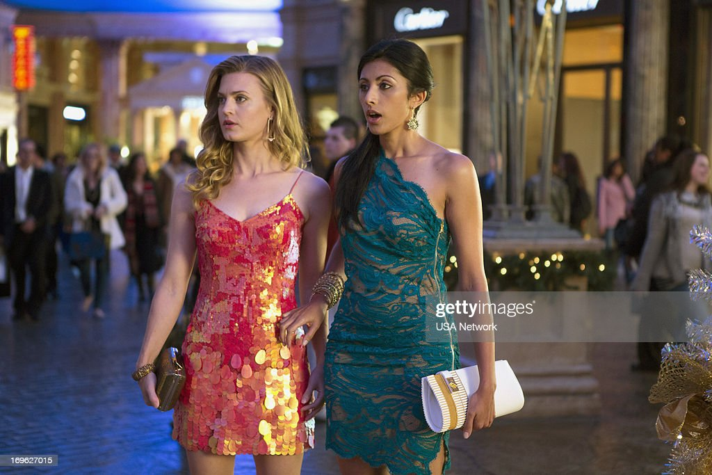 Brooke D'Orsay as Paige Collins, Reshma Shetty as Divya Katdare --