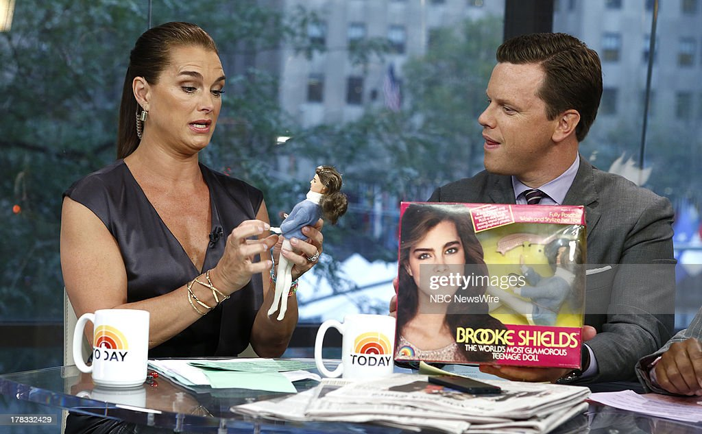 <a gi-track='captionPersonalityLinkClicked' href=/galleries/search?phrase=Brooke+Shields&family=editorial&specificpeople=202197 ng-click='$event.stopPropagation()'>Brooke Shields</a> and Willie Geist appear on NBC News' 'Today' show --