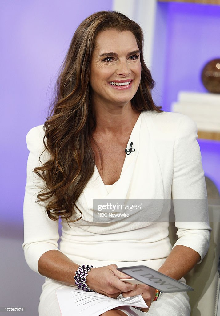Brooke Shields appears on NBC News' 'Today' show