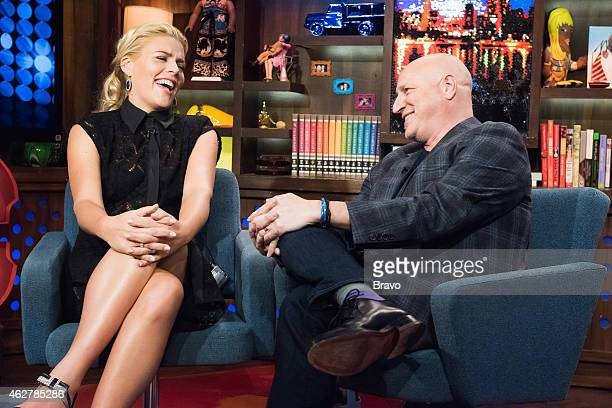 Busy Philipps and Tom Colicchio