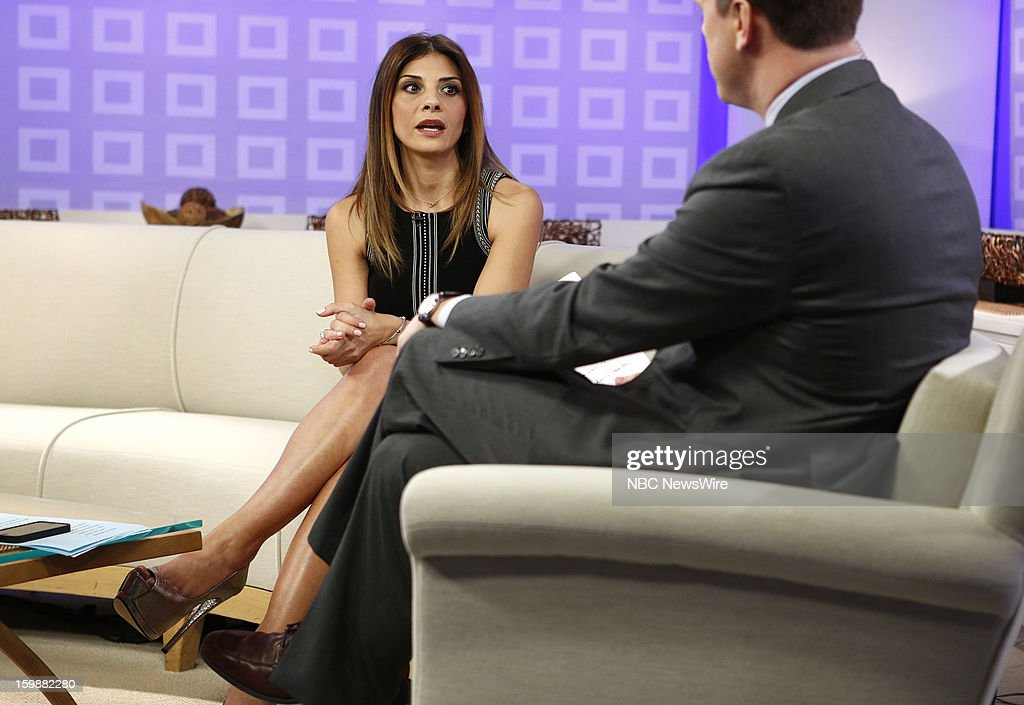 Callie Thorne appears on NBC News' 'Today' show --