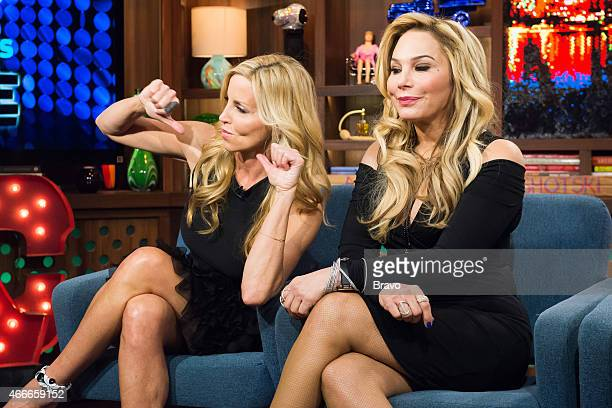 Camille Grammer and Adrienne Maloof