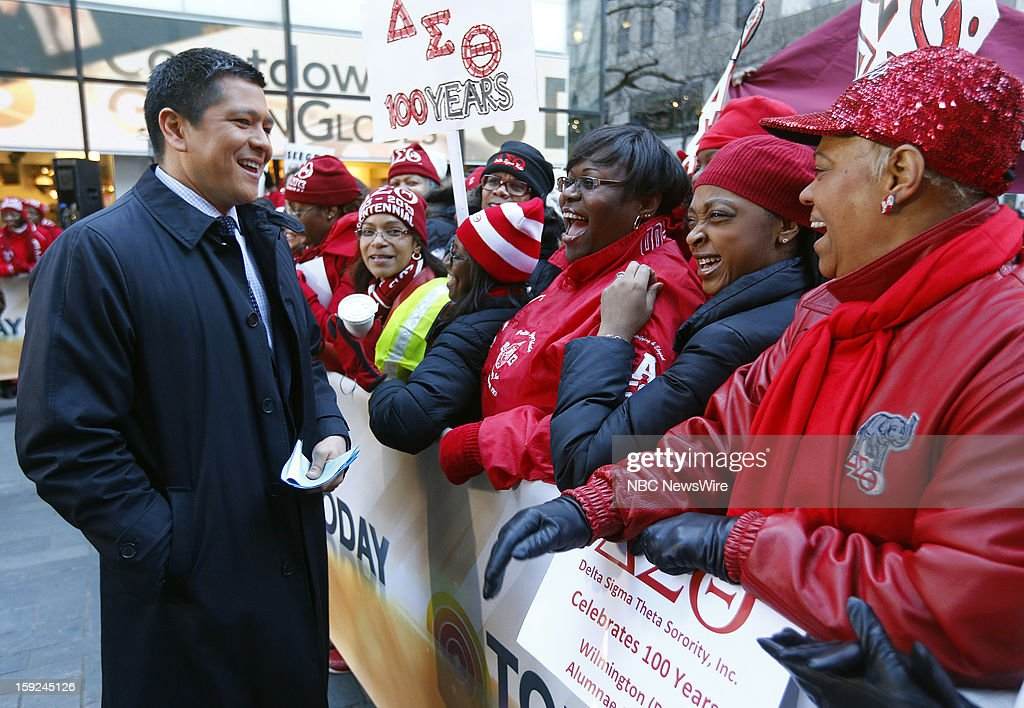 Carl Quintanilla appears on NBC News' 'Today' show --