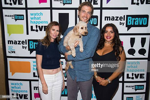Carole Radziwill Adam Kenworthy and Mercedes 'MJ' Javid