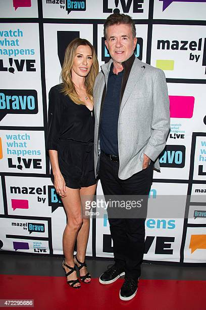 Carole Radziwill and Alan Thicke