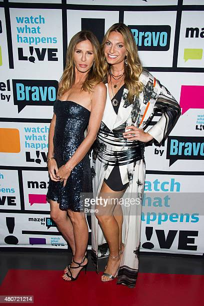 Carole Radziwill and Heather Thomson