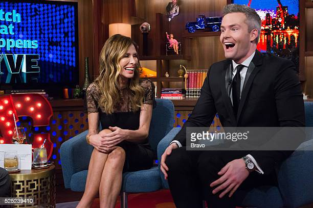 Carole Radziwill and Ryan Serhant