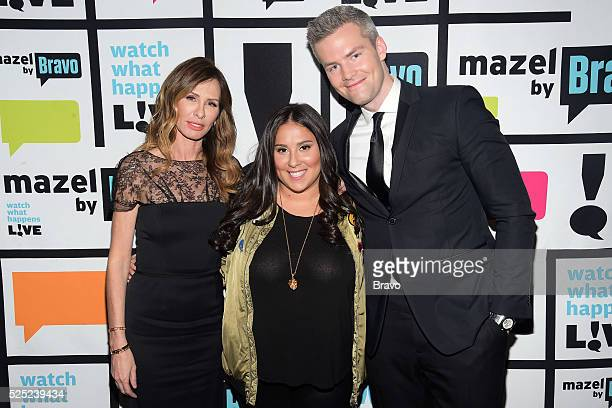 Carole Radziwill Claudia Oshry and Ryan Serhant