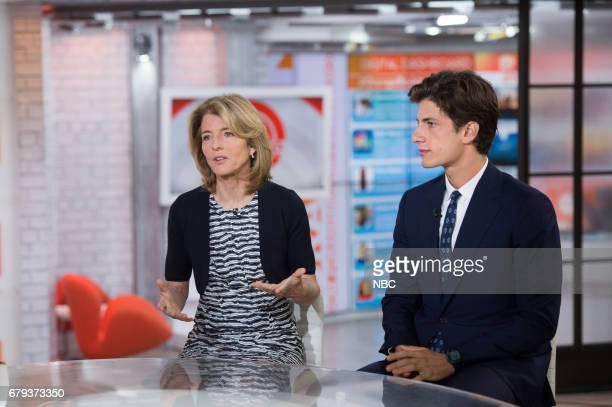 Caroline Kennedy and Jack Schlossberg on Friday May 5 2017