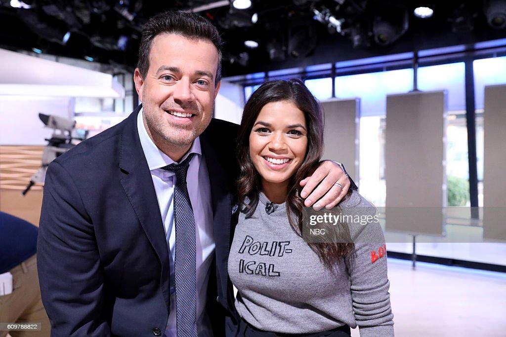 "NBC's ""Today"" With guest America Ferrera"