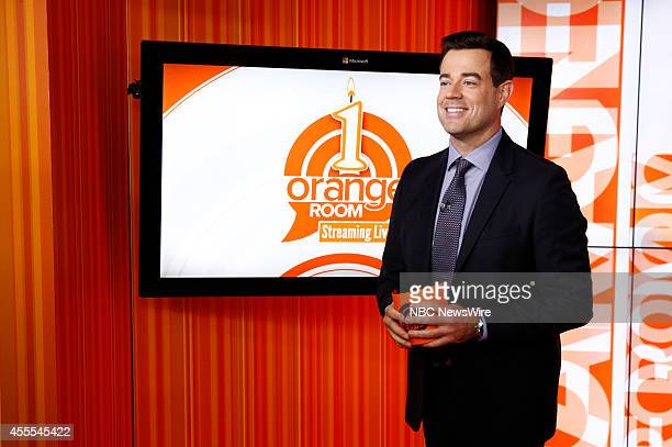Carson Daly appears on NBC News' 'Today' show