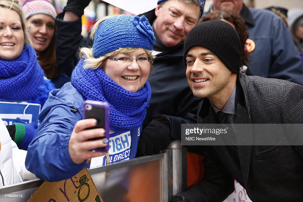 Carson Daly appears on NBC News' 'Today' show --