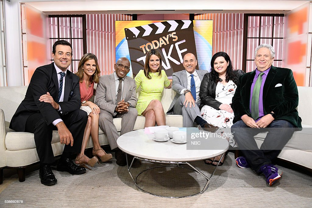 "NBC's ""Today"" With Guests Maddie Baillio, Harvey Fierstein, Maren Morris,Tori Spelling"