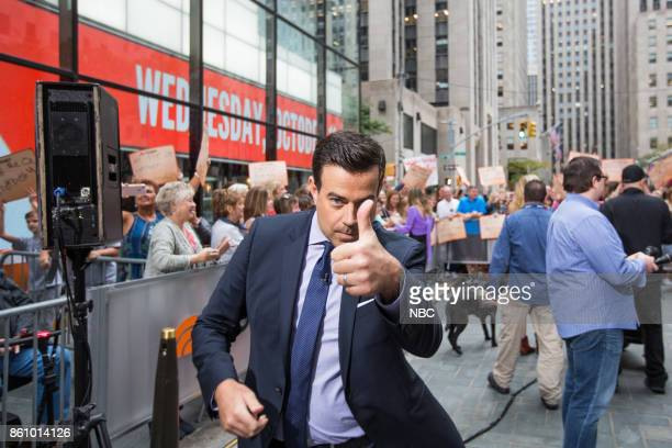 Carson Daly on Wednesday October 11 2017