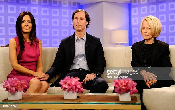 Catherine Hooper Andrew Madoff and Ruth Madoff appear on NBC News' 'Today' show