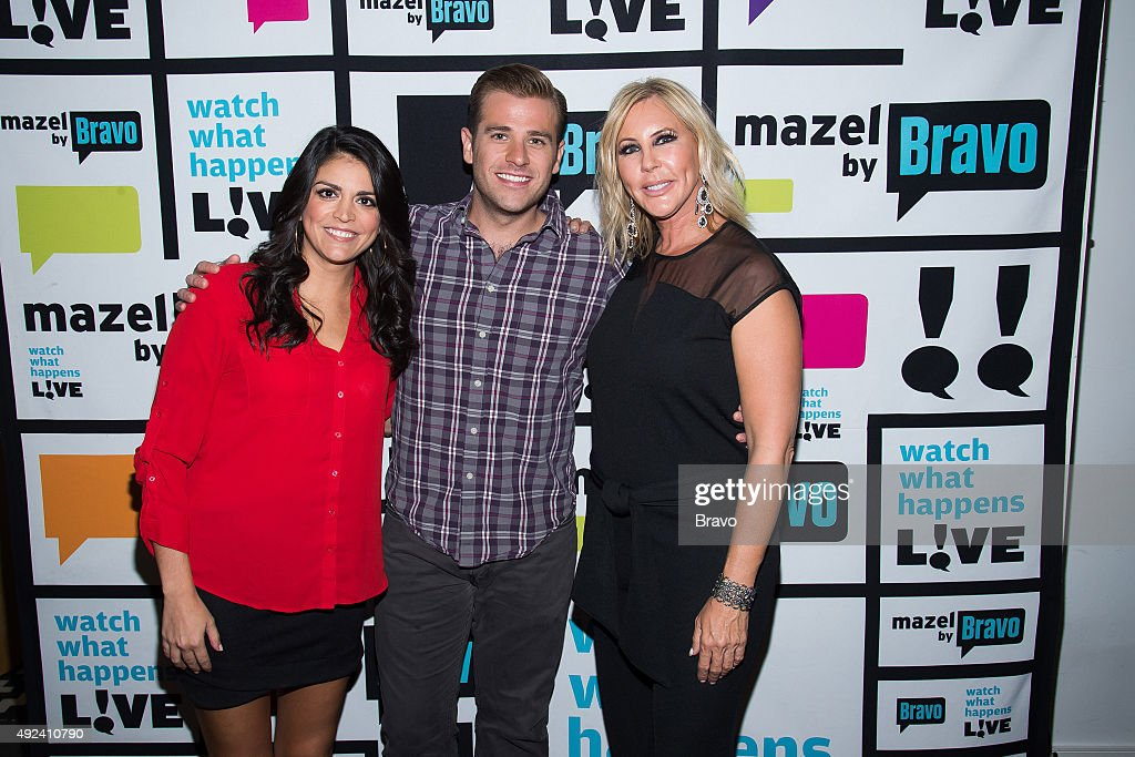 Cecily Strong Scott Evans and Vicki Gunvalson