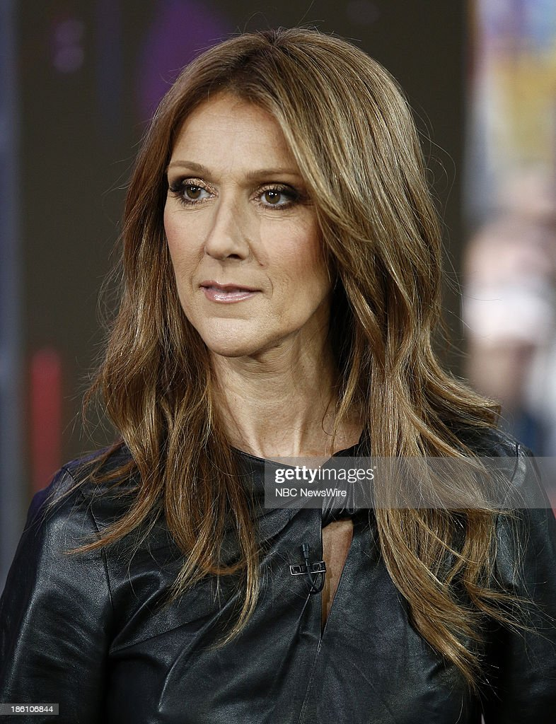 Celine Dion appears on NBC News' 'Today' show --