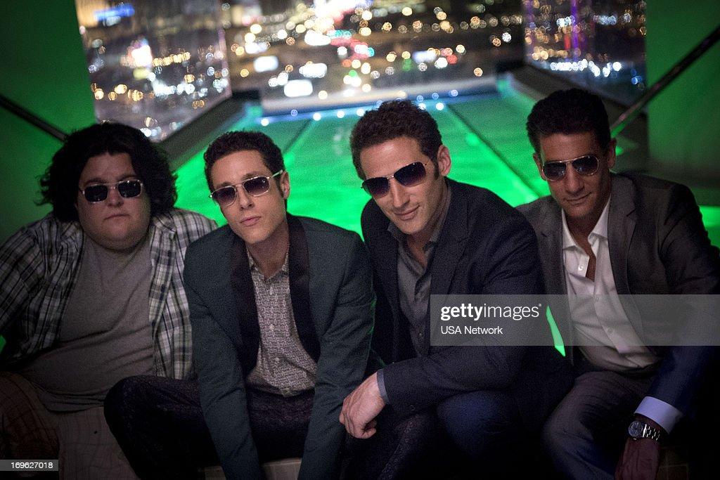 Charley Koontz as Owen, Paulo Costanzo as Evan Lawson, Mark Feuerstein as Dr. Hank Lawson, Michael B. Silver as Ken Keller --