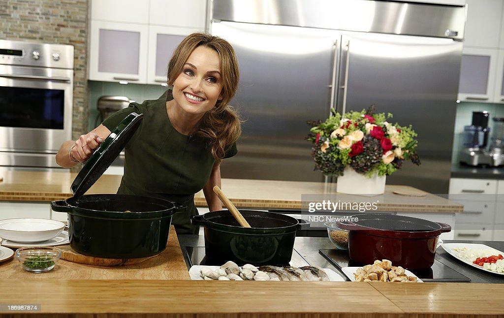 Chef Giada de Laurentiis appears on NBC News' 'Today' show on November 5, 2013 --