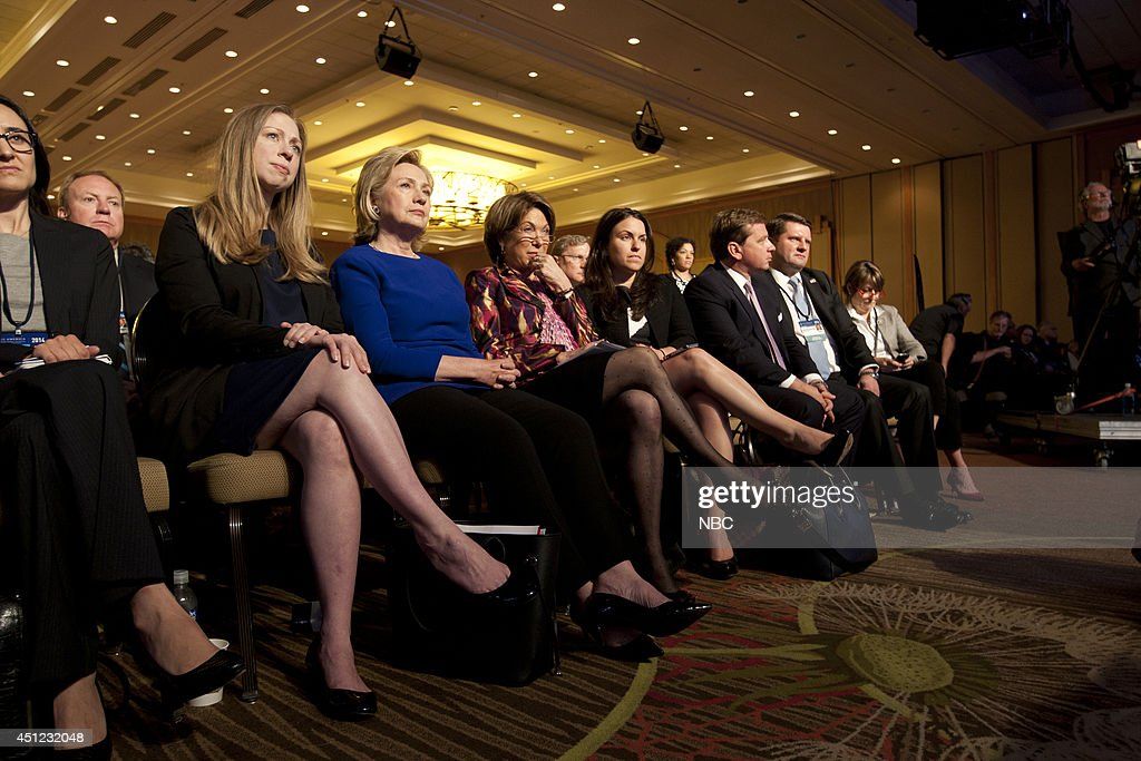 <a gi-track='captionPersonalityLinkClicked' href=/galleries/search?phrase=Chelsea+Clinton&family=editorial&specificpeople=119698 ng-click='$event.stopPropagation()'>Chelsea Clinton</a>, Hillary Rodham Clinton appear at the 2014 CGI America meeting in Denver --