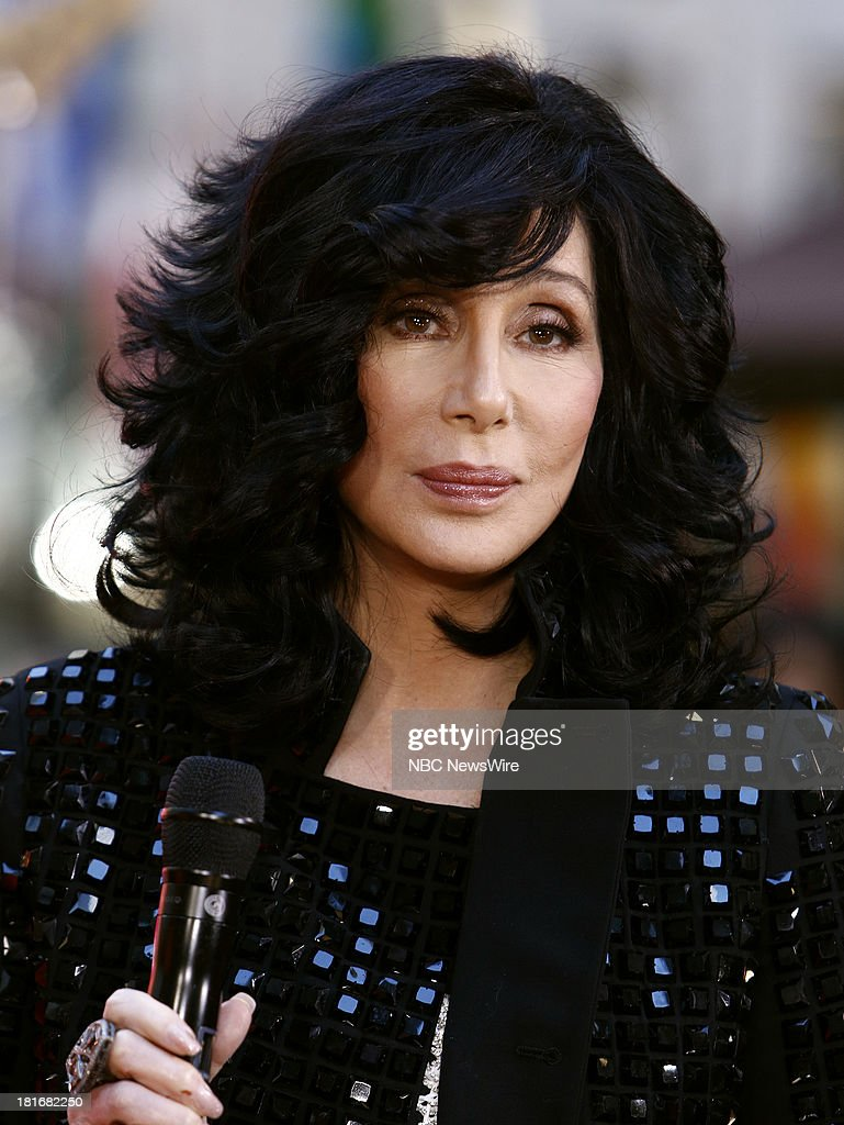 Cher appears on NBC News' 'Today' show --