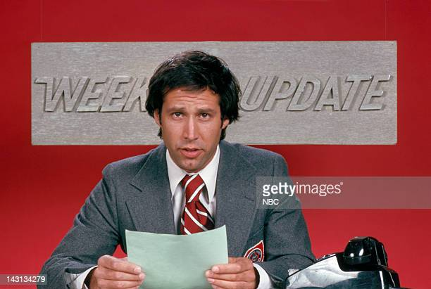 Chevy Chase during 'Weekend Update'