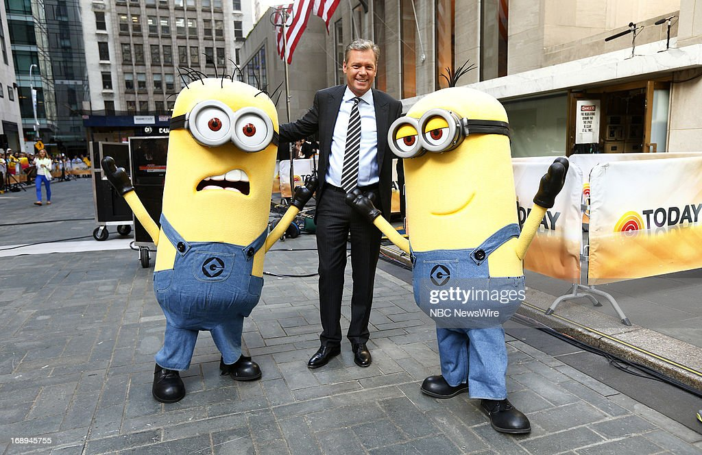 Chris Hansen and the 'Despicalbe Me 2' Minions appear on NBC News' 'Today' show --