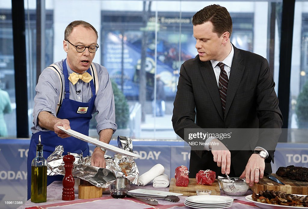 Chris Kimball and Willie Geist appear on NBC News' 'Today' show --