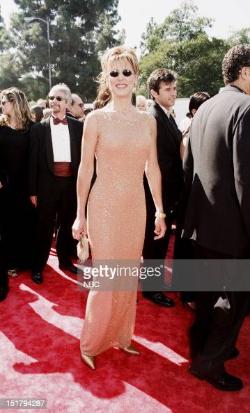 Christine Lahti arrives at the 50th Annual Primetime Emmy Awards held at the Shrine Auditorium in Los Angeles CA on September 13 1998