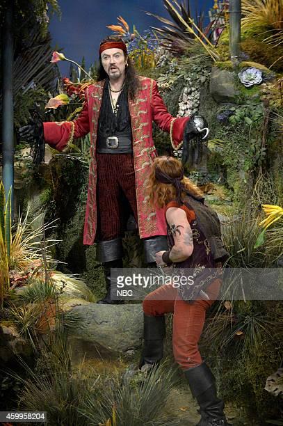 Christopher Walken as Captain Hook Christian Borle as Smee